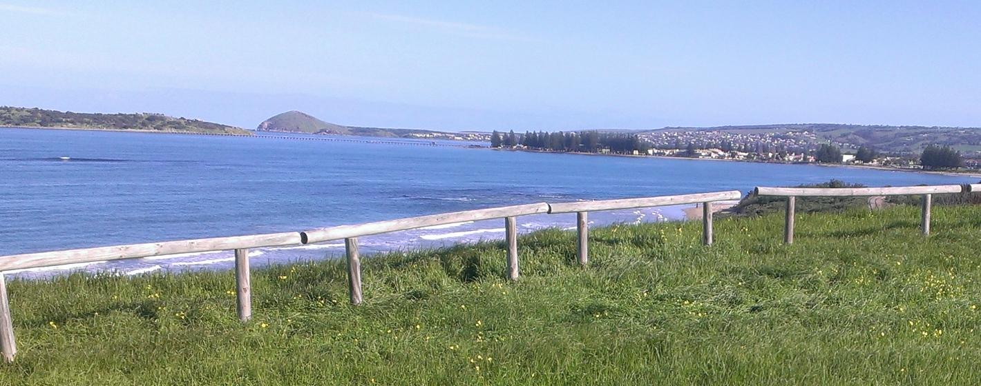 View of Victor Harbor and causeway